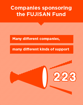 Companies sponsoring the FUJISAN Fund