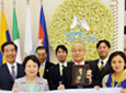 Registration of FUJISAN as a World Heritage Site was decided.
